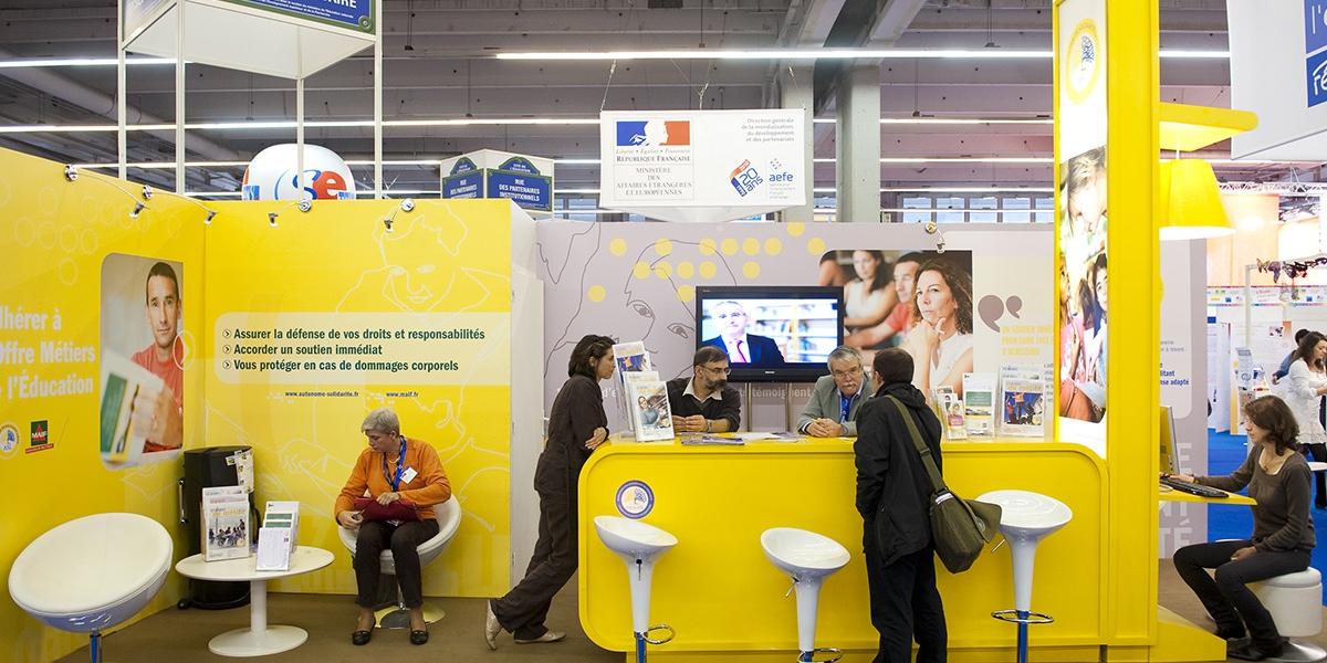 Salon europ en de l education 2010 l 39 autonome de for Salon europeen de l education porte de versailles